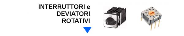 Interruttori e Deviatori Rotativi online: Mirante Elettronica Acilia