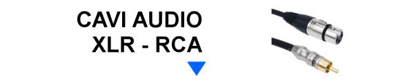 Cavi Audio XLR RCA online: Mirante Elettronica Acilia