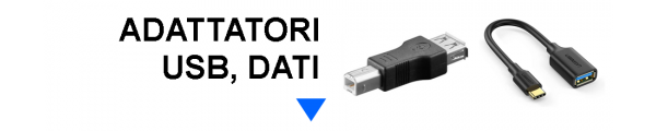 Adattatori USB e Dati online: Mirante Elettronica Acilia