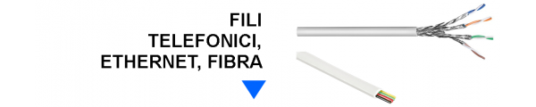 Fili Telefonici, Ethernet, Fibra online: Mirante Elettronica Acilia