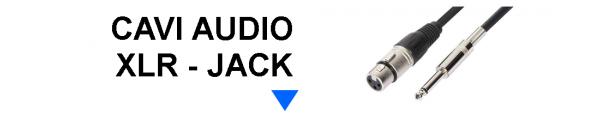 Cavi Audio XLR - Jack
