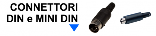 Connettori DIN e mini DIN