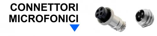 Connettori Microfonici