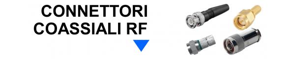 Connettori Coassiali RF online: Mirante Elettronica | Acilia